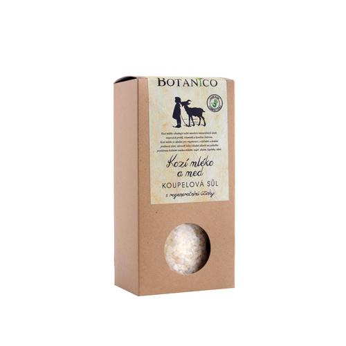 Koupelová sůl Mrtvé moře s kozím mlékem a medem (krabička 200 g)