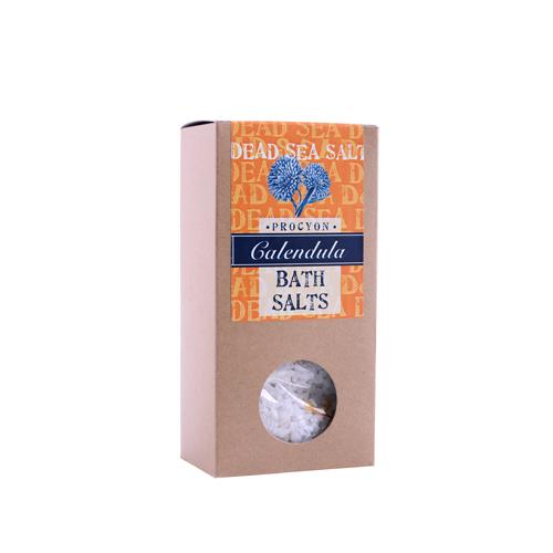 Sůl mrtvé moře 200g krabička s okénkem měsíček