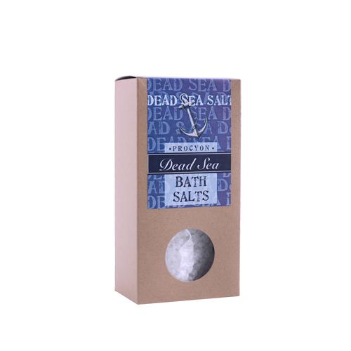 Sůl mrtvé moře 200g krabička s okénkem čistá