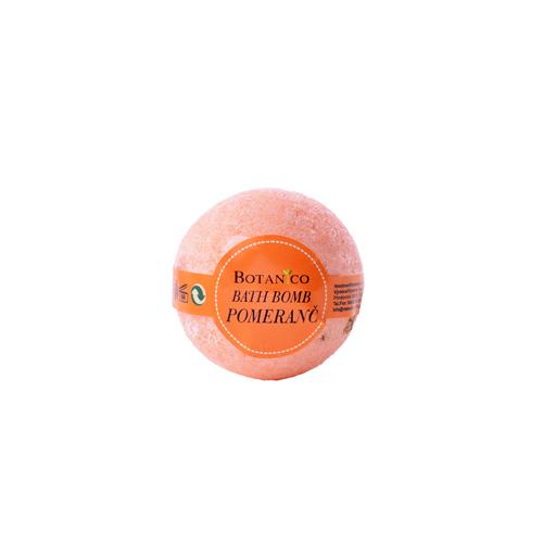 BOTANICO - bath bombs 50 g  pomeranč