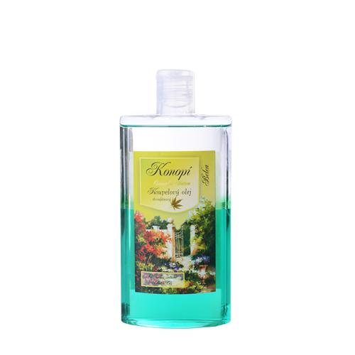 Konopí-Koupelový olej dvoufázový s minerály mrtvého moře relaxační 250ml