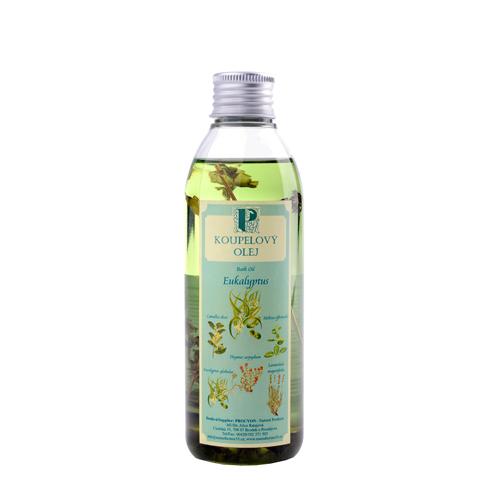 Koupelový olej eukalyptus s bylinou 200ml