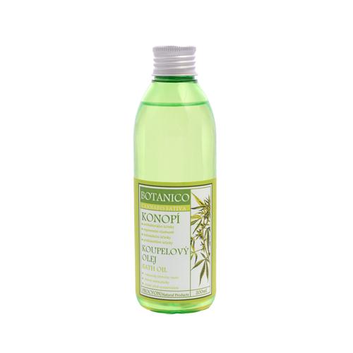Konopný koupelový olej 200 ml