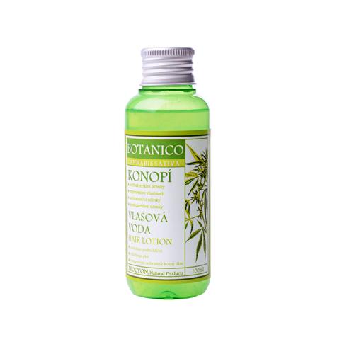 Konopná vlasová voda pro lepší růst vlasů 100 ml