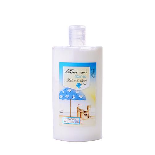 Tělové a pleťové mléko-se solí z mrtvého moře 250ml