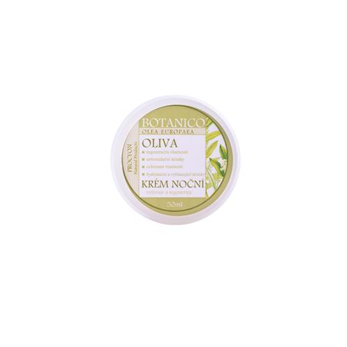 Pleťový krém noční omlazující oliva 50 ml