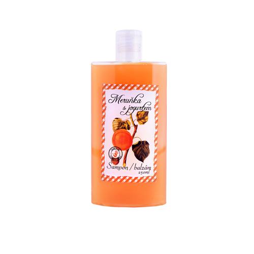 Šampon balzám meruňka 250ml