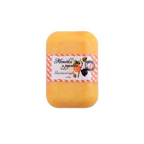 Glycerínové mýdlo 200g meruňka