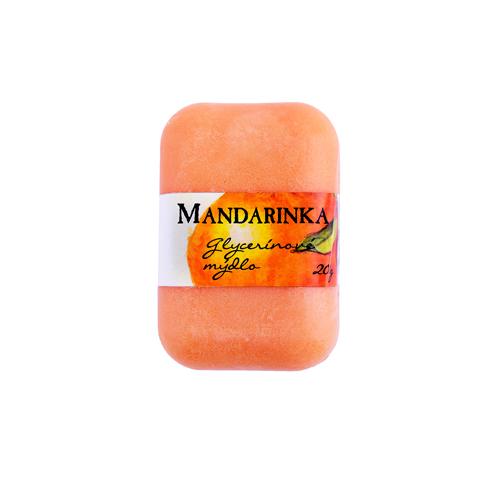 Glycerínové mýdlo mandarinka 200g