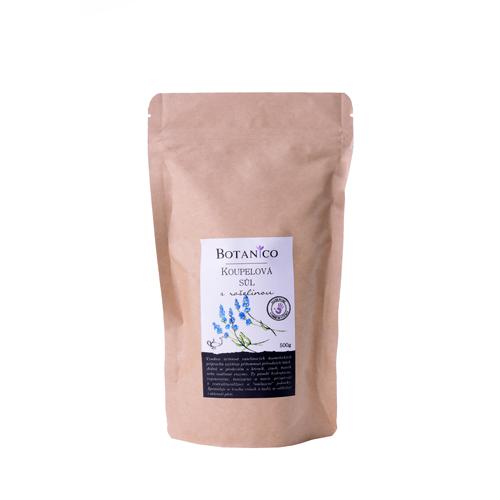 Koupelová sůl s rašelinou 500g hnědý sáček BOTANICO