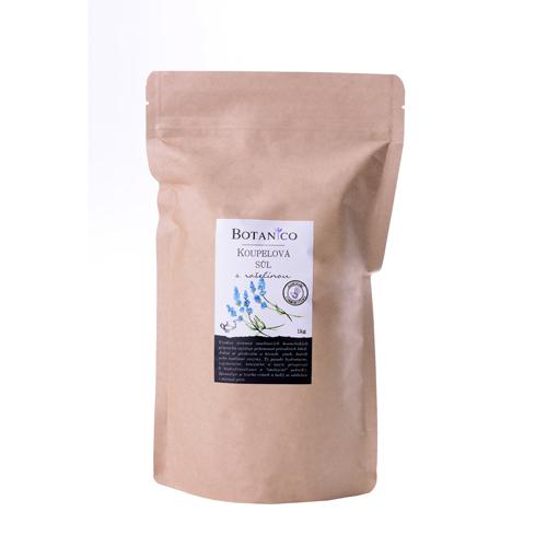 Koupelová sůl s rašelinou 1000g sáček hnědý BOTANICO