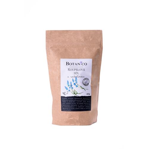 Koupelová sůl s rašelinou 250g hnědý sáček BOTANICO