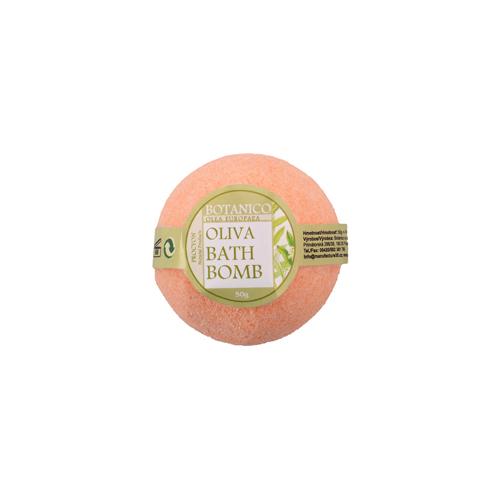 bath bombs- koupelová koule šumivá 50g oliva