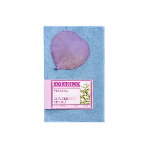 Mýdlo glycerín  dárkové s dekorací folie 180g verbena