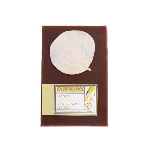 Mýdlo glycerín  dárkové s dekorací folie 180g mandle