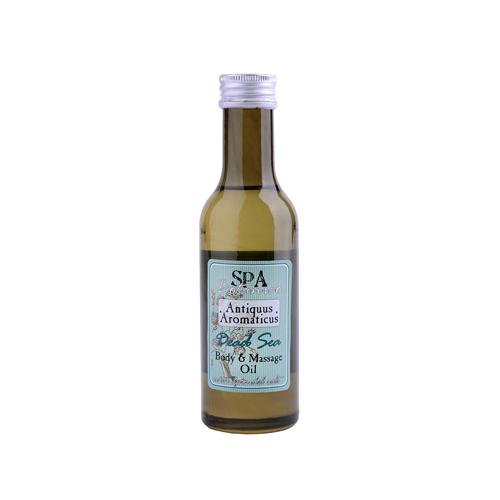 Tělový masážní olej s vřídelní solí -mrtvé moře  185 ml