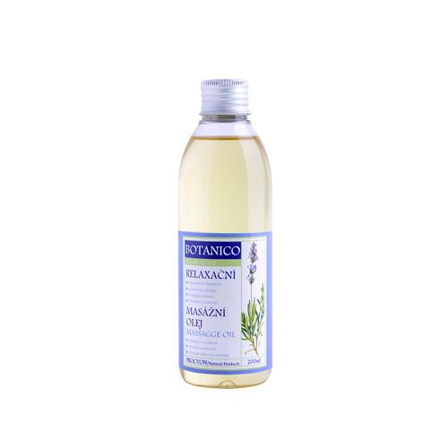 Konopný relaxační masážní olej s levandulí a s extraktem konopí 200ml