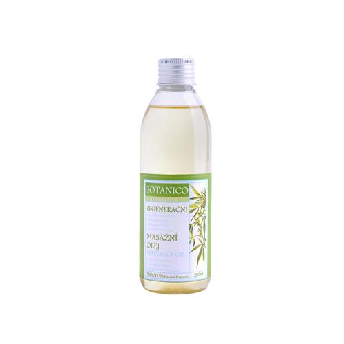 Konopný regenerační stimulační masážní olej 200ml
