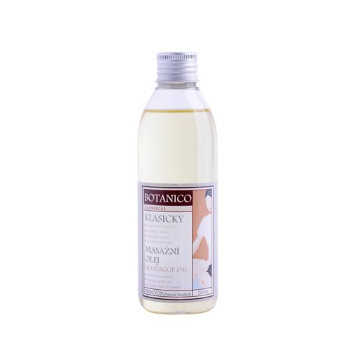 Klasicný masážní olej bez vůně čistý 200ml