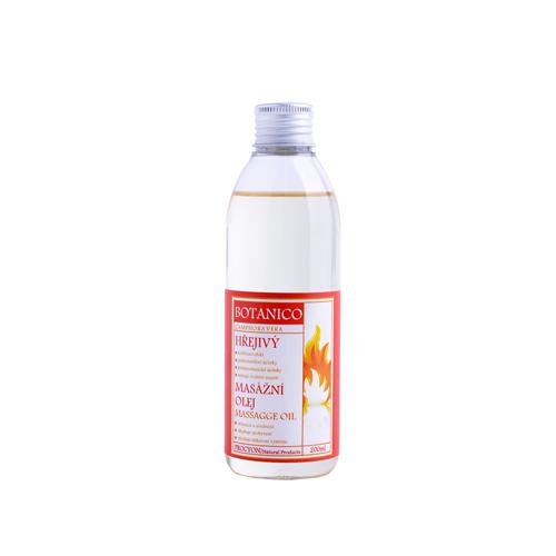 Hřejivý masážní olej 200ml
