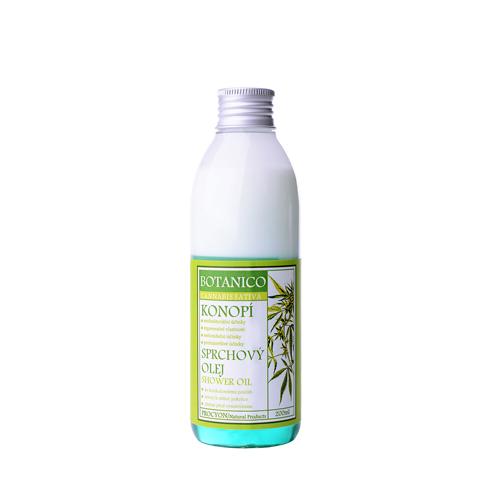 Sprchový olej s extraktem konopí 200 ml