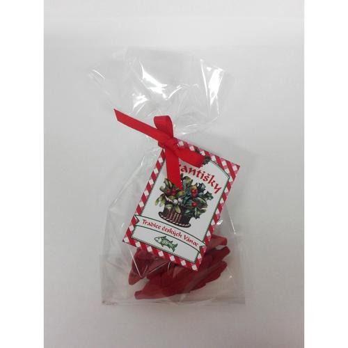 PROCYON Vánoční Františky červené - 8 ks - lístečky (LIMITOVANÁ EDICE)