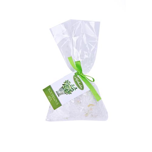 Koupelová sůl s bylinou Meduňka / 100 g