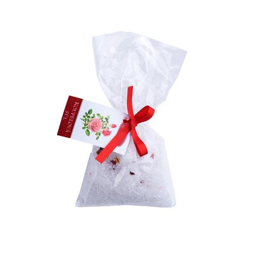 Koupelová sůl s bylinou Růže / 100 g